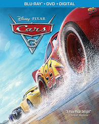 Cars 3 (Blu Ray Only) Pre-Owned: Disc and Case