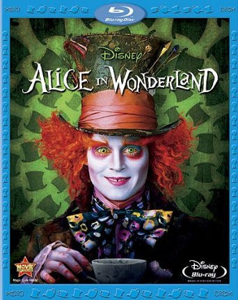 Alice in Wonderland (2010) (Blu Ray / Movie) Pre-Owned: Disc(s) and Case