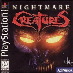 Nightmare Creatures (Playstation 1) Pre-Owned: Game, Manual, and Case