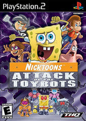 Nicktoons Attack of the Toybots (Playstation 2 / PS2) Pre-Owned: Game and Case