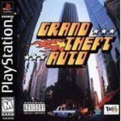 Grand Theft Auto (Playstation 1) Pre-Owned: Game, Manual, and Case