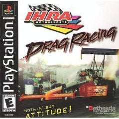 IHRA Drag Racing (Playstation 1 / PS1) Pre-Owned: Game, Manual, and Case