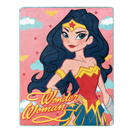 "Wonder Woman - ""Truth Love Strength"" - Silk Touch Throw Blanket - 40"" x 50"" - NEW"