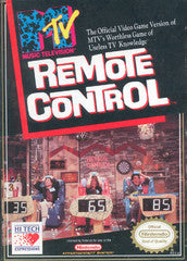 Remote Control (Nintendo / NES) Pre-Owned: Cartridge, Manual, Poster, and Box