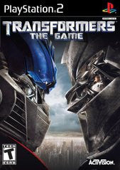 Transformers the Game (Playstation 2 / PS2) Pre-Owned: Game and Case