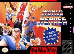 World Heroes (Super Nintendo / SNES) Pre-Owned: Cartridge Only