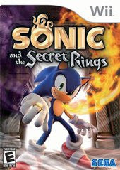 Sonic and the Secret Rings (Nintendo Wii) Pre-Owned: Game, Manual, and Case