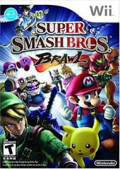 Super Smash Bros Brawl (Nintendo Wii) Pre-Owned: Game, Manual, and Case