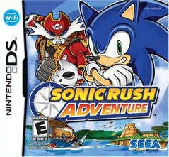 Sonic Rush Adventure (Nintendo DS) Pre-Owned: Game, Manual, and Case