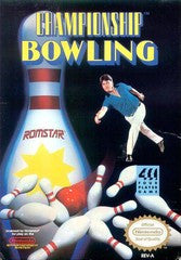 Championship Bowling (Nintendo) Pre-Owned: Game, Manual, and Box