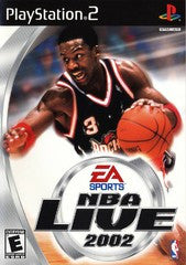 NBA Live 2002 (Playstation 2 / PS2) Pre-Owned: Game, Manual, and Case