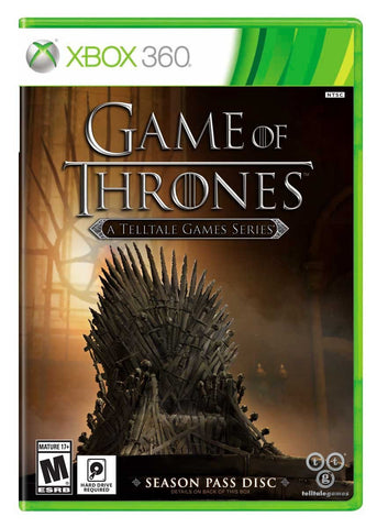 Game of Thrones - A Telltale Games Series (Xbox 360) NEW