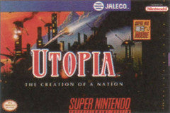 Utopia The Creation of a Nation (Super Nintendo / SNES) Pre-Owned: Cartridge Only
