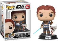 Star Wars: #337 Cal Kestis & BD-1 - Bobble-Head (Funko POP!) NEW