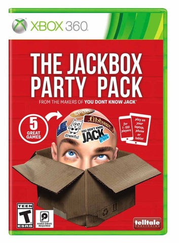 The Jackbox Party Pack (Xbox 360) NEW