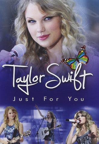 Taylor Swift : Just for You (DVD Movie) Pre-Owned: Disc(s) and Case