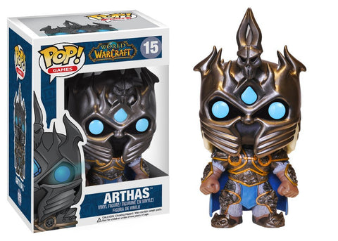 Funko POP! Figure - Games #15: World of Warcraft - Arthas - NEW 1