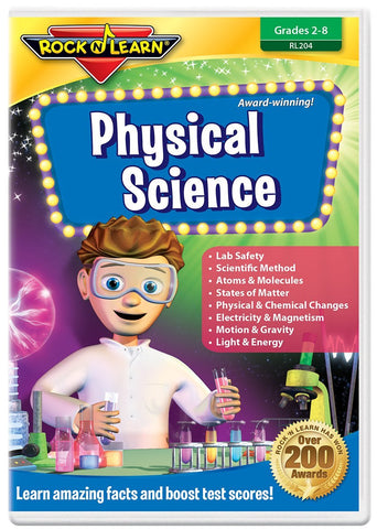 Physical Science by Rock 'N Learn (DVD) Pre-Owned
