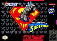 The Death and Return of Superman (Super Nintendo) Pre-Owned: Cartridge Only
