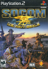 SOCOM US Navy Seals (Playstation 2 / PS2) Pre-Owned: Game, Manual, and Case