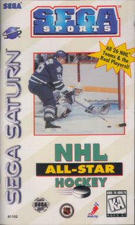 NHL All-Star Hockey (Sega Saturn) Pre-Owned: Game, Manual, and Case