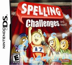 Spelling Challenges (Nintendo DS) Pre-Owned: Game, Manual, and Case
