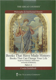 The Great Courses: Philosophy and Intellectual History - Books That Have Made History - Books That Can Change Your Life - Part 2 ONLY (Audio CD) Pre-Owned
