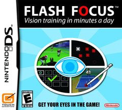 Flash Focus Vision Training (Nintendo DS) Pre-Owned: Cartridge Only