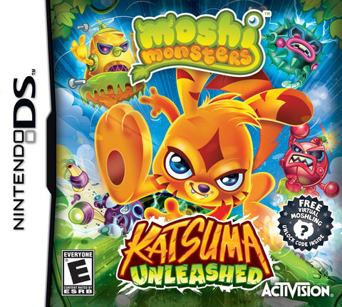 Moshi Monsters: Katsuma Unleashed (Nintendo DS) NEW