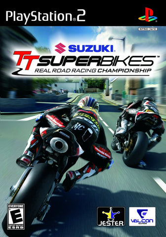 Suzuki TT Superbikes: Real Road Racing Championship (Playstation 2 / PS2) Pre-Owned: Game, Manual, and Case