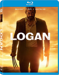 Logan (3-Disc w/ Bonus Noir Version) (Blu Ray + DVD Combo) Pre-Owned