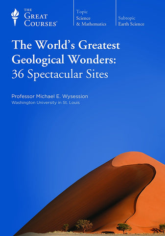 The World's Greatest Geological Wonders: 36 Spectacular Sites (DVD) Pre-Owned