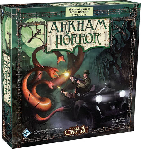 Arkham Horror (Card and Board Games) - Pre-Owned / Complete