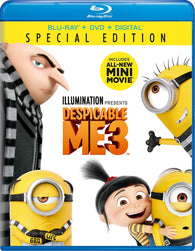 Despicable Me 3 (Blu Ray Only) Pre-Owned: Disc and Case