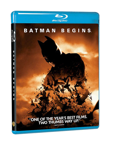 Batman Begins (Blu Ray) Pre-Owned
