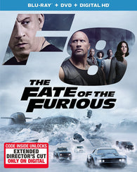 The Fate of the Furious (Blu Ray Only) Pre-Owned: Disc and Case