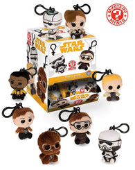 Funko Mystery Mini Plush Keychains: Star Wars - Solo - NEW