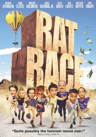Rat Race (Special Collector's Edition) (2001) (DVD / Movie) Pre-Owned: Disc(s) and Case