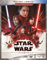 Star Wars: Episode VIII - The Last Jedi (Blu Ray) NEW