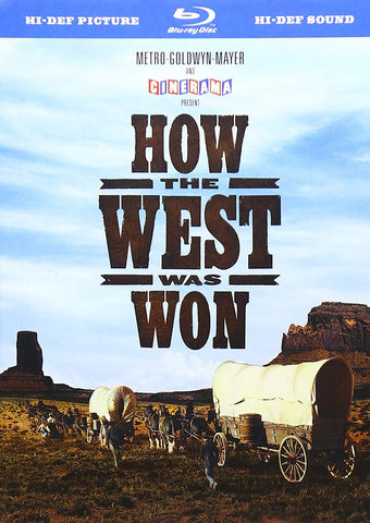 How the West Was Won (Book Case Edition) (Blu Ray) Pre-Owned