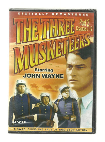The Three Musketeers, Part 2 Chapters 7-12 [Slim Case] (DVD Seasons) Pre-Owned: Disc(s) and Case