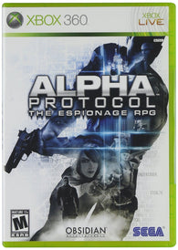 Alpha Protocol  (Xbox 360) Pre-Owned: Game, Manual, and Case