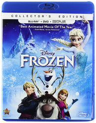 Frozen (Blu Ray + DVD) Pre-Owned
