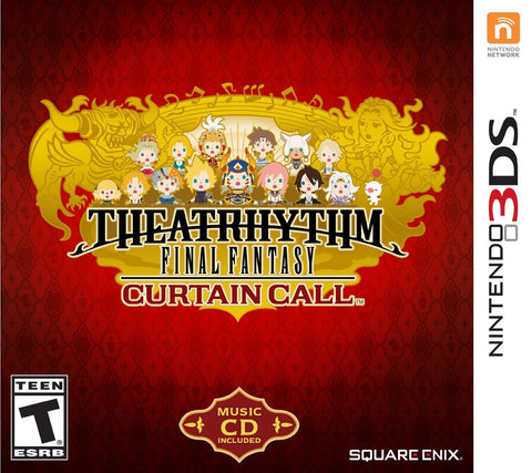 Theatrhythm Final Fantasy Curtain Call - Limited Edition (Nintendo 3DS) NEW