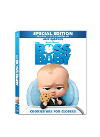 Boss Baby (Blu Ray Only) Pre-Owned: Disc and Case