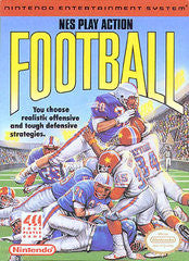 NES Play Action Football (Nintendo) Pre-Owned: Game, Manual, Poster, and Case