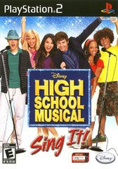 High School Musical Sing It (Playstation 2 / PS2) NEW