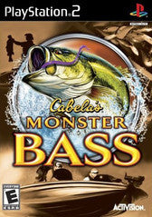 Cabela's Monster Bass (Playstation 2 / PS2) Pre-Owned: Game, Manual, and Case