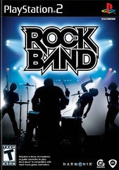 Rock Band (Playstation 2 / PS2) Pre-Owned: Game, Manual, and Case