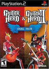 Guitar Hero 1 and 2 (Playstation 2 / PS2) Pre-Owned: Discs, Manuals, and Case